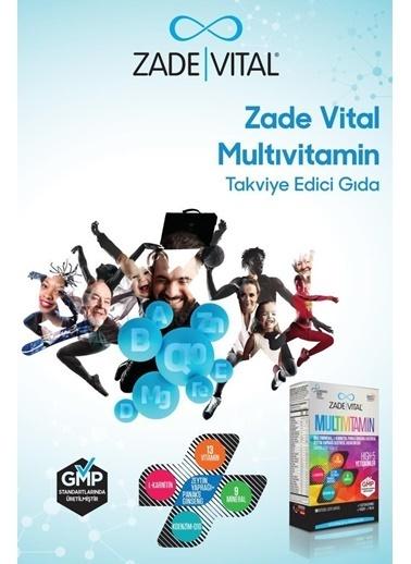 Zade Vital Zade Vital Multivitamin Takviye Edici Gida 30 Bitkisel Kapsül Renksiz Renksiz